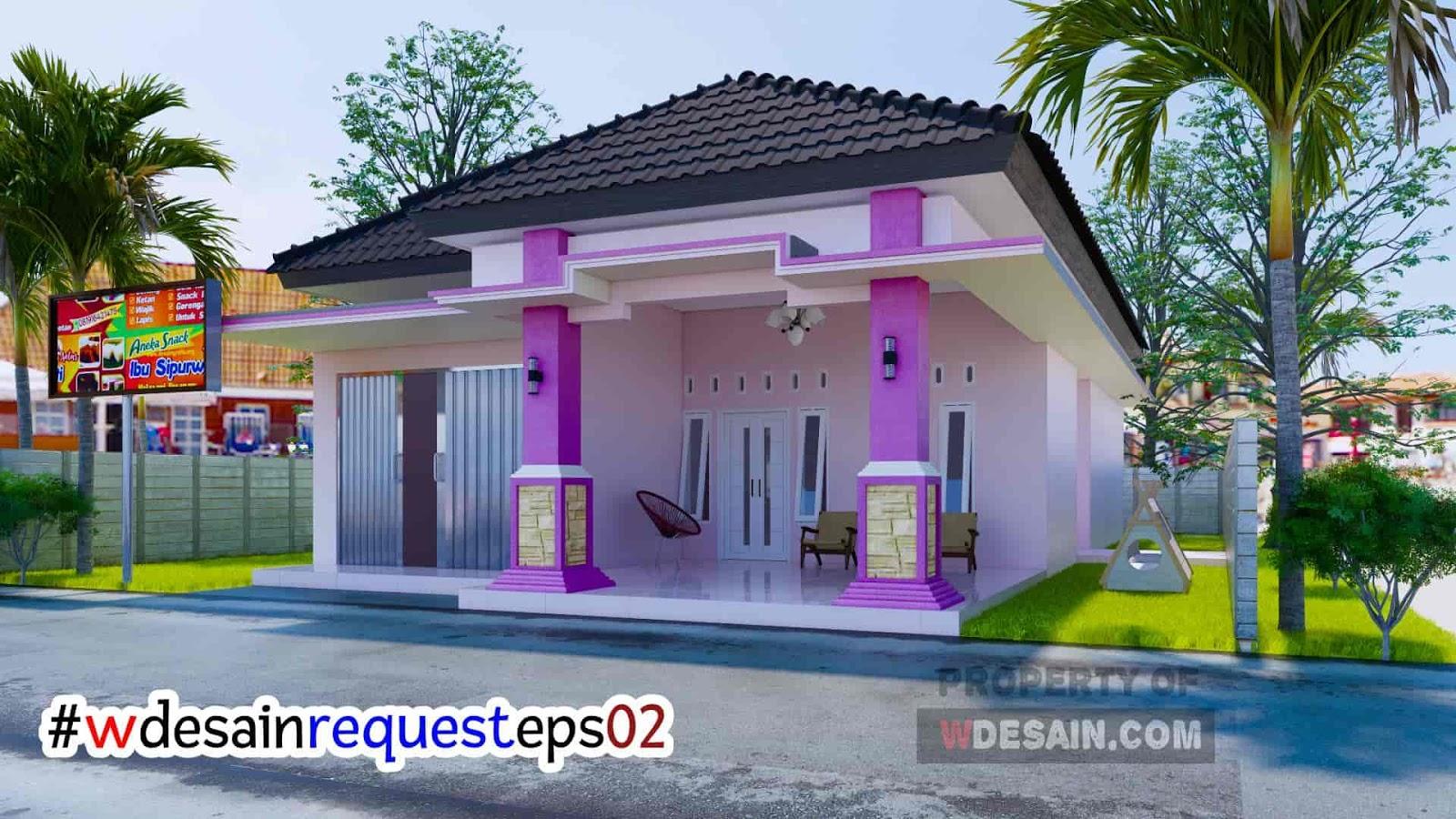 Desain Rumah Minimalis 3 Kamar 1 Mushola Dan Toko Desain Rumah Minimalis