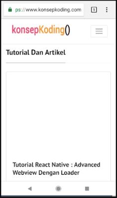 Tutorial Open Link Url Website Di React Native