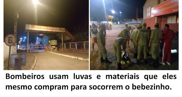 BOMBEIROS SOCORREM CRIANÇA QUE NASCEU DENTRO DE VEÍCULO NO SÃO RAIMUNDO.