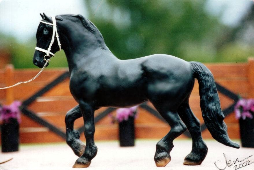 Braymere Custom Saddlery Model Friesians