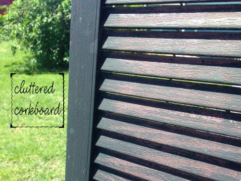 Sprucing up the shutters