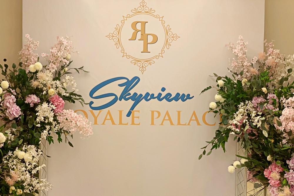 Royale Palace Skyview Cyberjaya, Event Space, Altelia Amani, Wedding Space, Akad NIkah, Cyberjaya, Rawlins GLAM, Beauty by Rawlins,