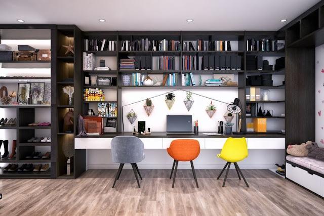 Inspirasi Home Office Yang Dapat Digunakan Di Rumah Anda