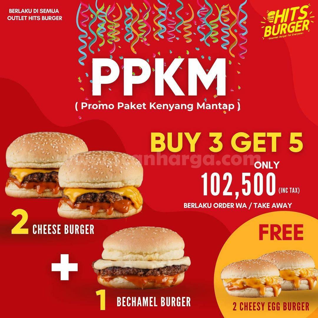 Promo Hits Burger PPKM (Promo Paket Kenyang Mantap)