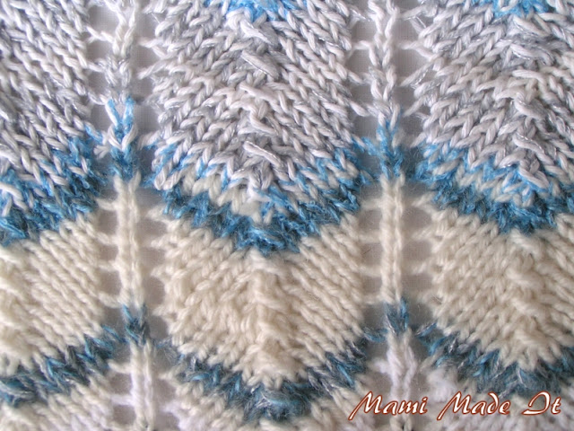 Sky Scarf: Knitting pattern