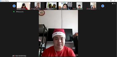 Martin Karakabu merayakan Natal lewat Aplikasi zoom apa maknanya