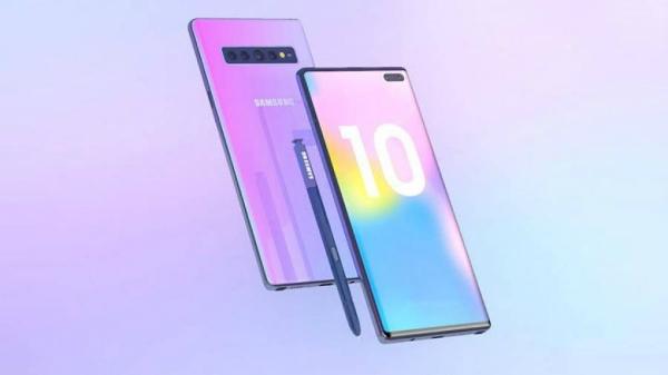 تسريبات جديدة تكشف عن مواصفات وشكل هاتف Galaxy Note 10 Plus