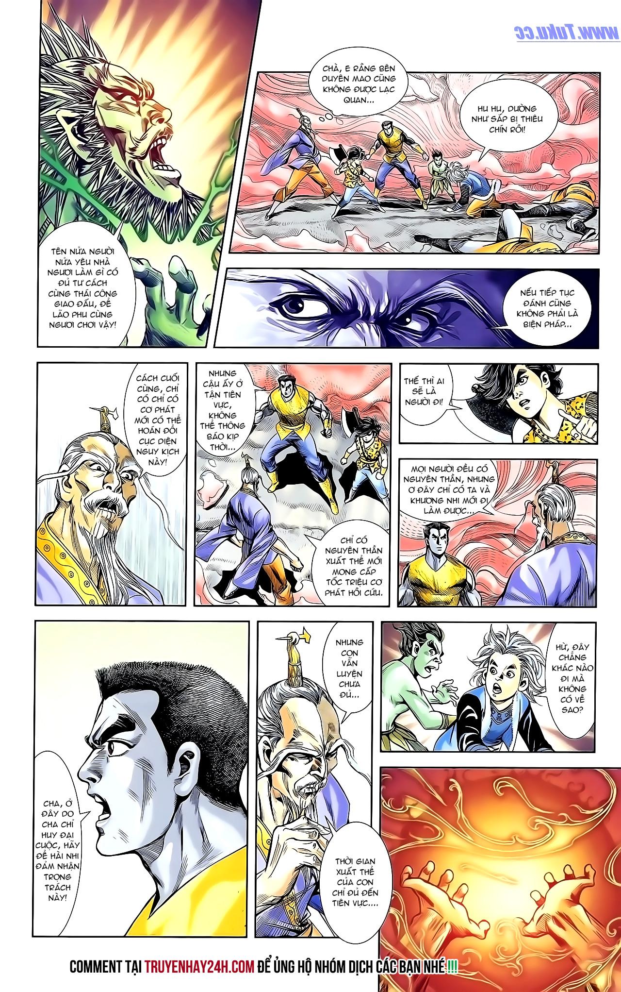 Cơ Phát Khai Chu Bản chapter 154 trang 27