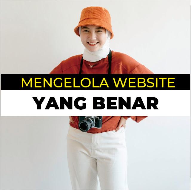 Mengelola Website Dengan Benar
