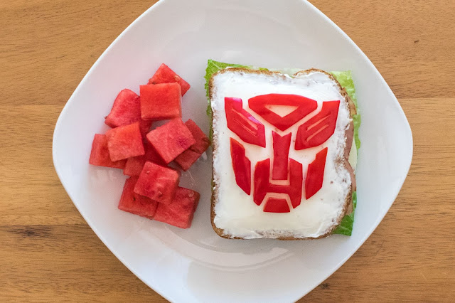 How to Make a Transformers Autobot Sandwich!