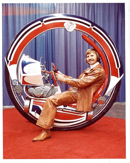 Jumpin Joe Gerlach and his Monowheel Time Machine