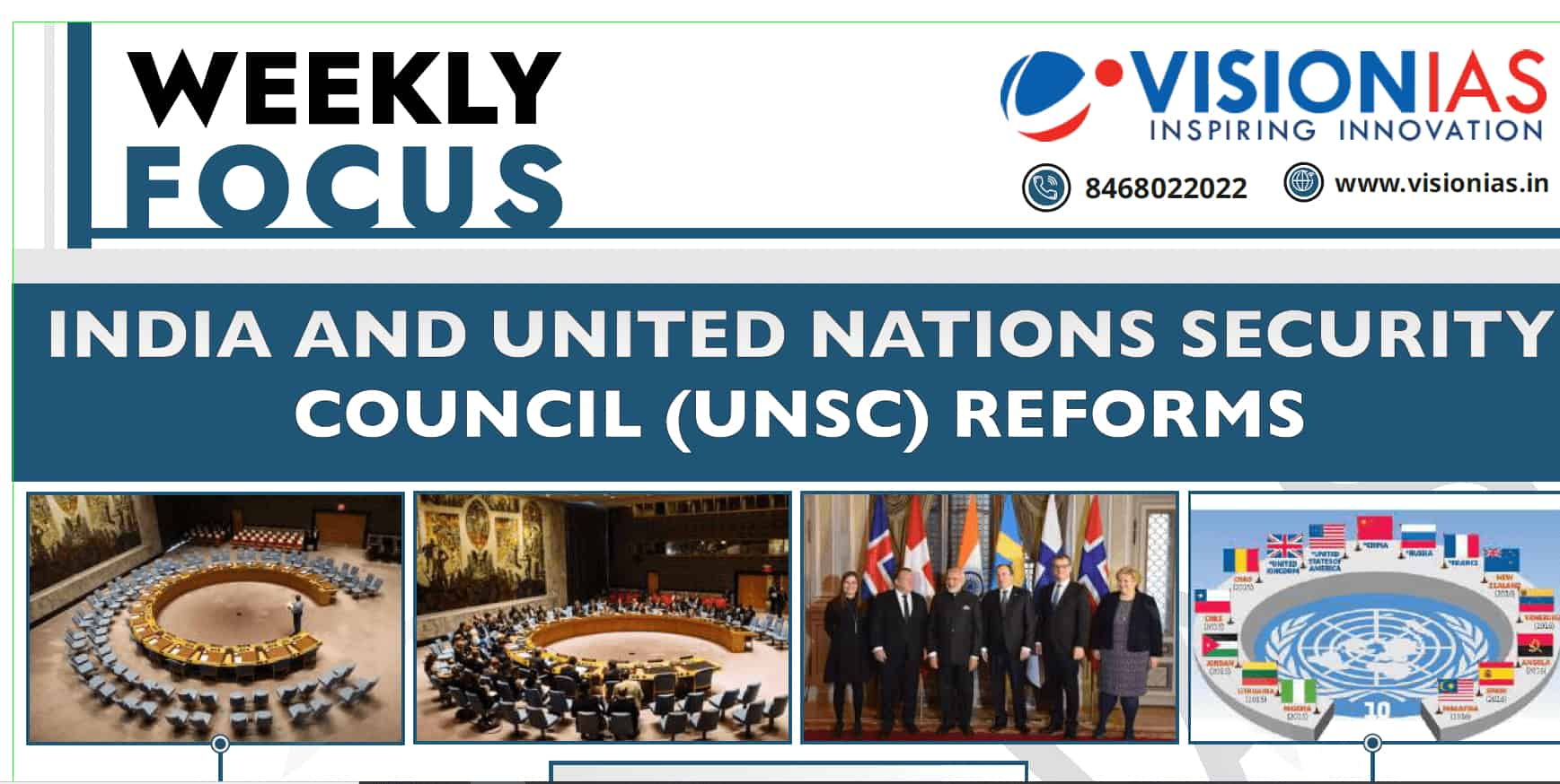 Vision IAS India and UNSC Reform