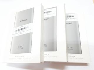 Powerbank Samsung Original 10000mAh 15W Fast Charge USB Type-C Dual USB Port