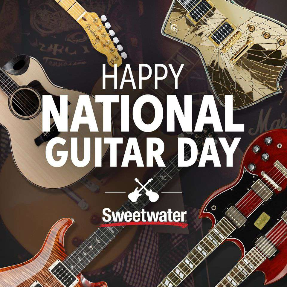 National Guitar Day Wishes Photos