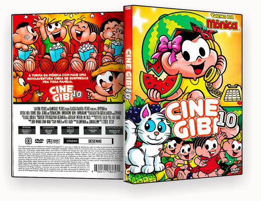 CAPA DVD – Cine Gibi 10 – ISO