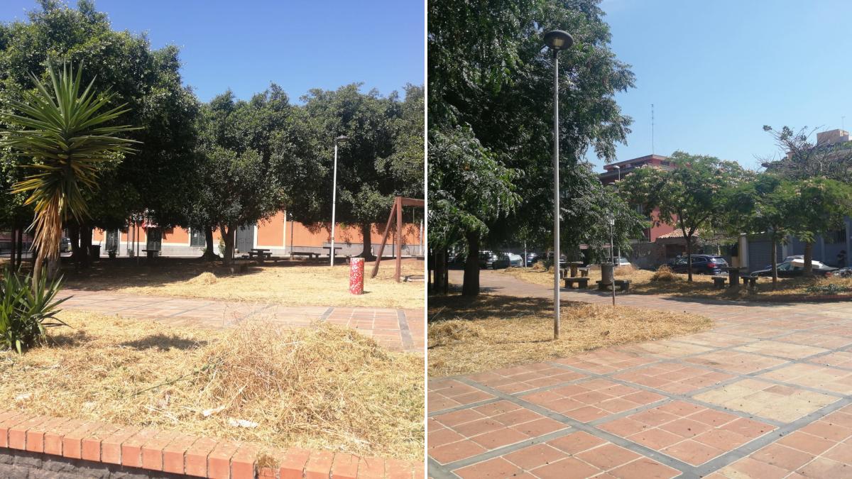 Cibali riqualificazione piazza Ignazio Roberto IV Municipio