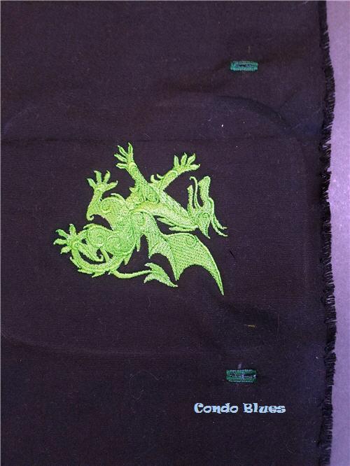 how to make a dragon dice bag