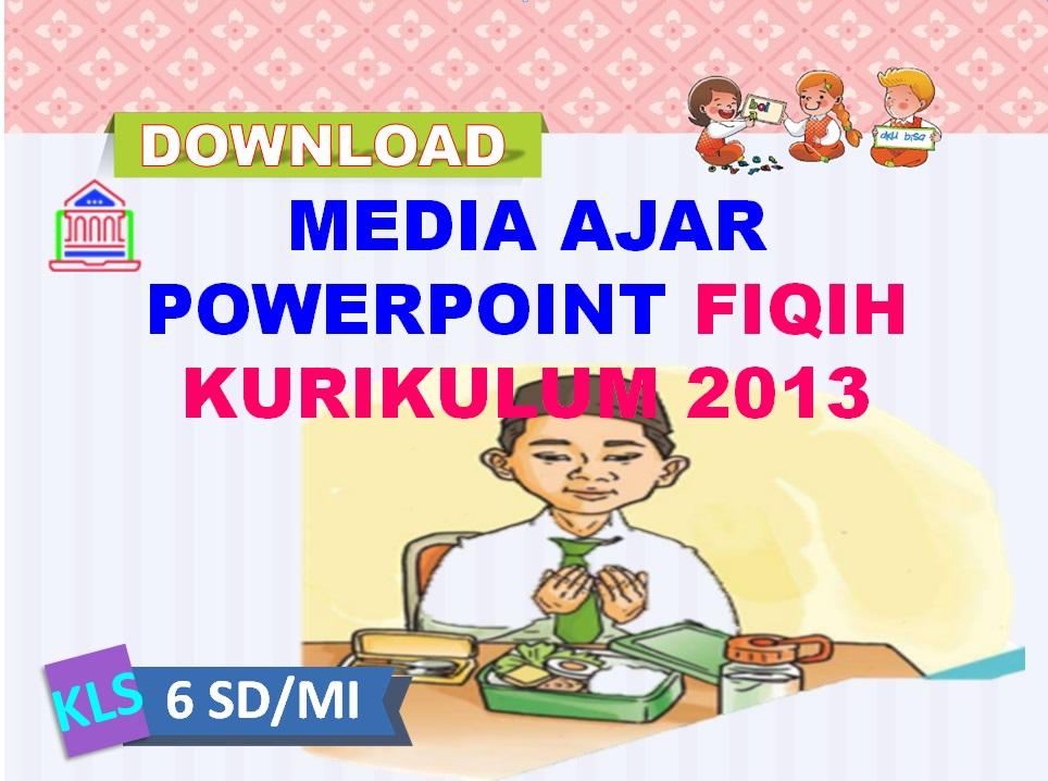 Media Ajar Power Point Fiqih Kelas 6 SD/MI