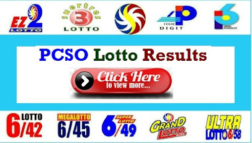 PCSO Lotto Result October 18 2020
