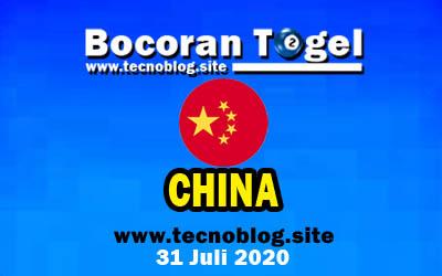Bocoran Togel China 31 Juli 2020