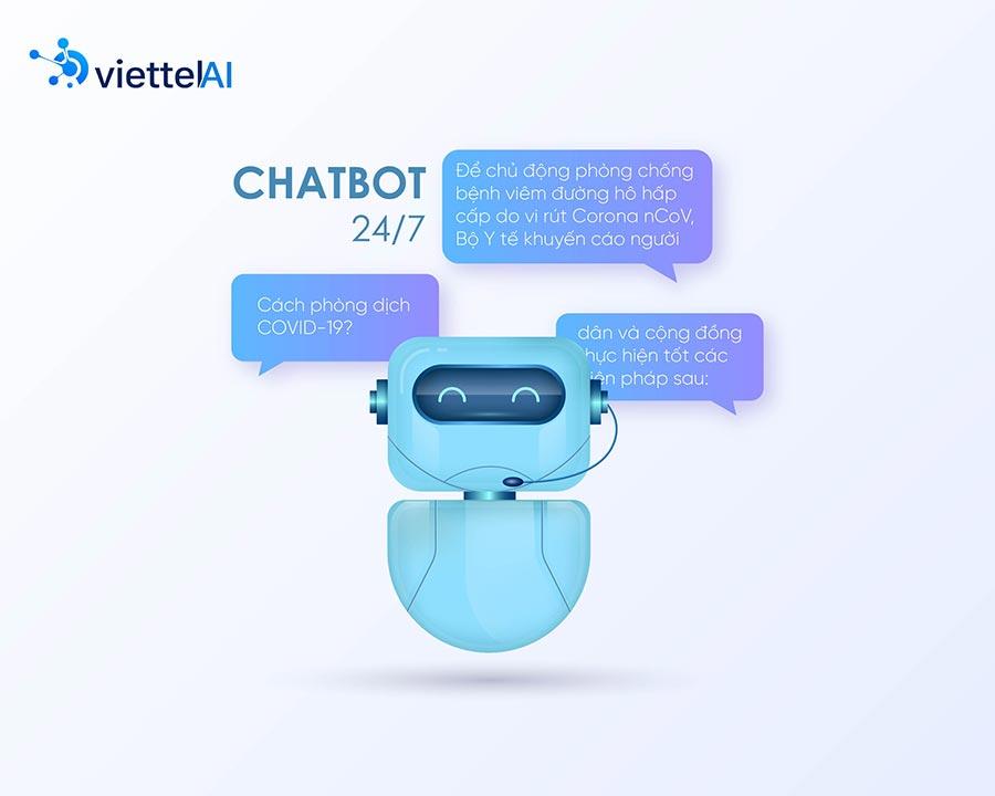 Chatbox AI của Viettel hoạt động vô cùng hiệu quả trong 6 tháng đầu năm