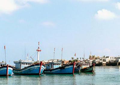 Khám phá khung cảnh 6 cửa biển Quảng Ngãi trong ca dao