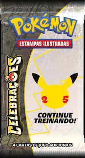Pacote de Booster Pokémon Celebrações