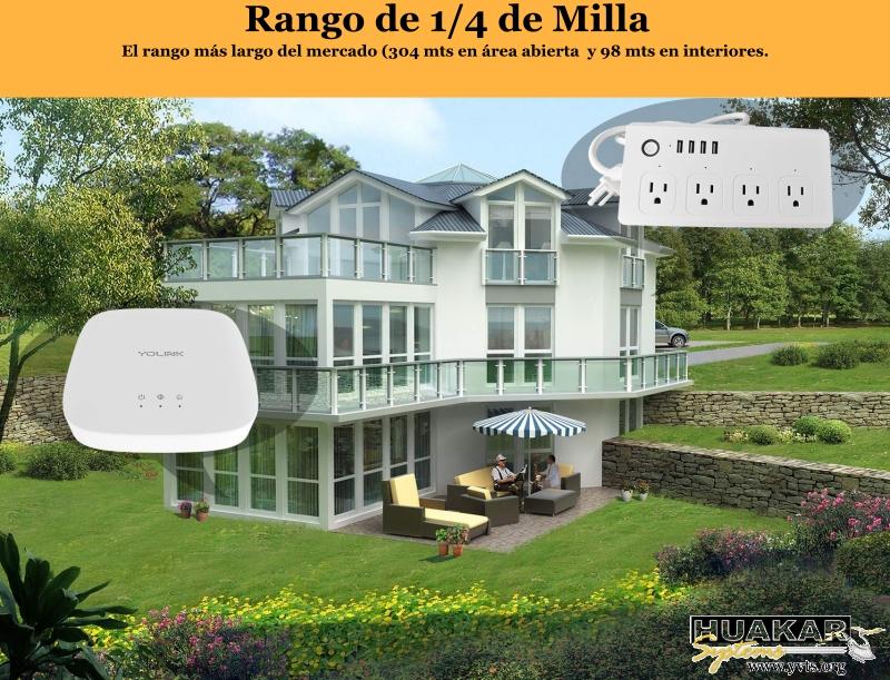 HS-SMO-1001 - Multitoma Yolink Wi-Fi