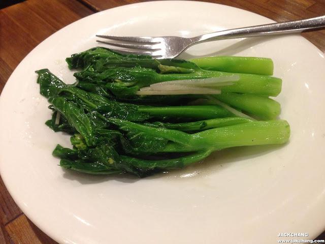 Str-fried Kale with ginger juice