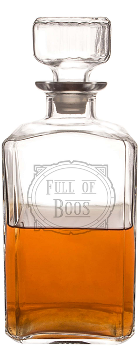CATHY'S CONCEPTS Full of Boos Decanter