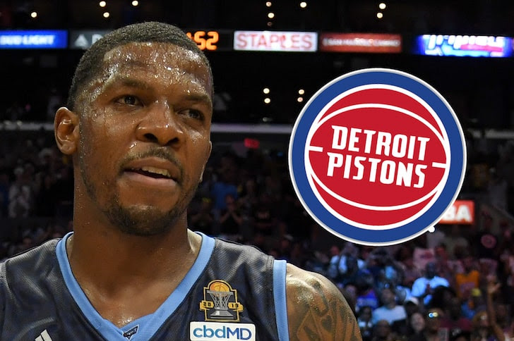 Joe Johnson Signs With The Pistons