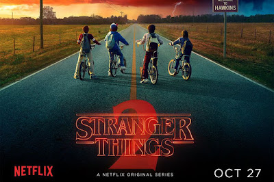 Póster Segunda temporada Stranger Things