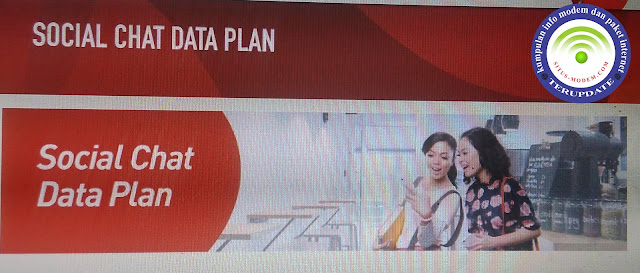 Wow Langganan Paket Social Chat Data Plan, Unlimited Akses Sosial Media Sepuasnya