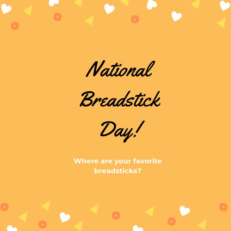 National Breadstick Day Wishes Awesome Picture