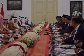 Kesempatan Emas Bertemu Raja Salman Indonesia Tegaskan Pentingnya Kemerdekaan Palestina - Commando