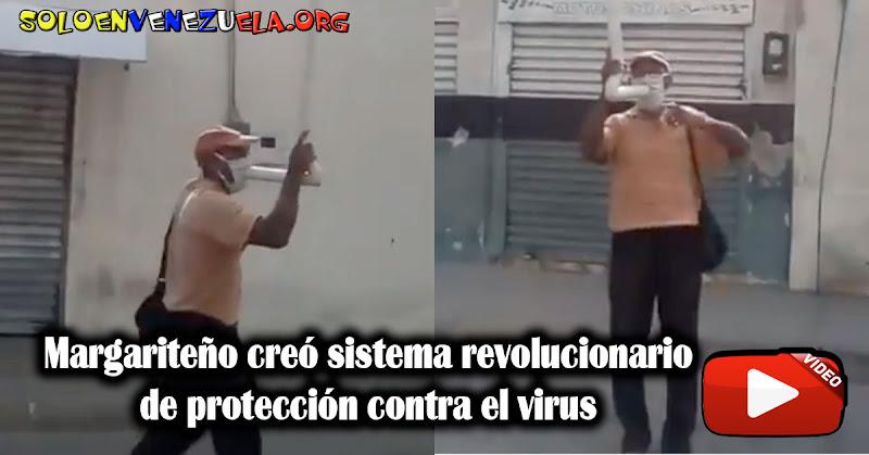 Margariteño creó sistema revolucionario de protección contra el virus