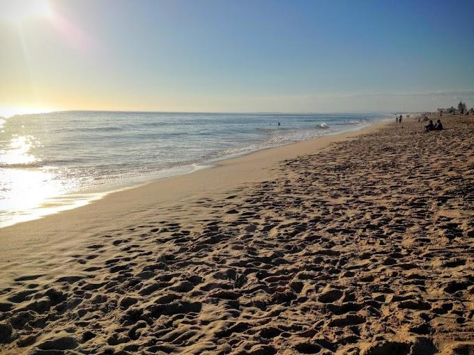 La playa de Faro