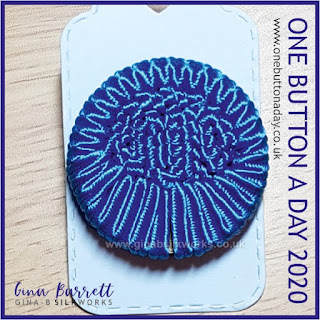 Day 291 : Aegir - One Button a Day 2020 by Gina Barrett