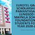 Eurotel grants scholarship to Pamantasan ng Lungsod ng Maynila Scholars Foundation, Inc. students for the year 2020-2021