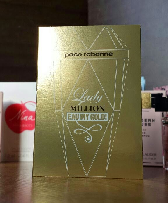 Paco Rabanne - Lady Million Eau My Gold - The Fragrance Shop Discovery Club Classics Collection