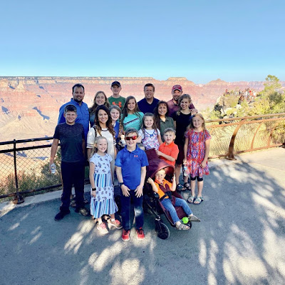 Duggar family Grand Canyon