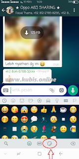 Cara Mengirim Stiker Whatsapp Terbaru Yang Lagi Ngetrend