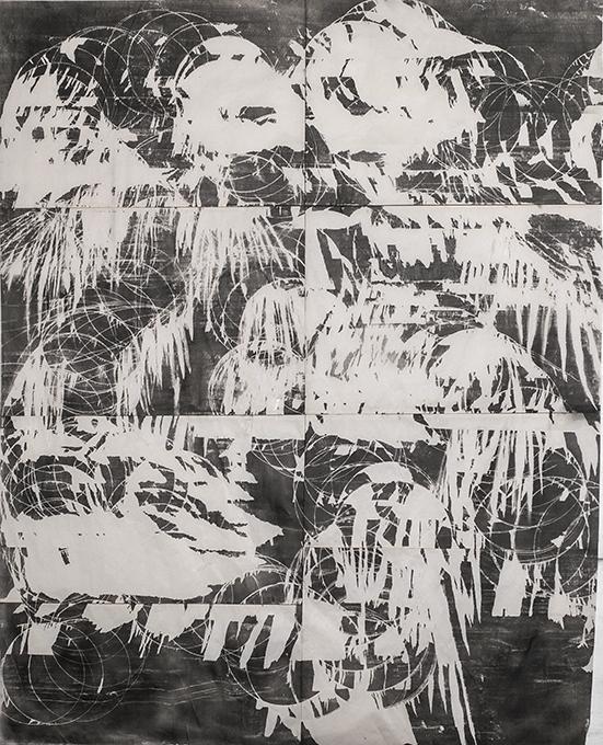 Denitsa Todorova Waterfalls, 2019 pencil on paper 230 x 190 cm