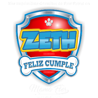 Logo de Paw Patrol: ZETH