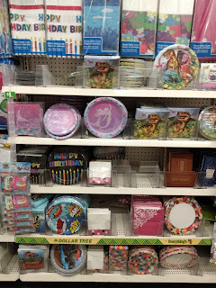 Dollar Tree Party Supplies