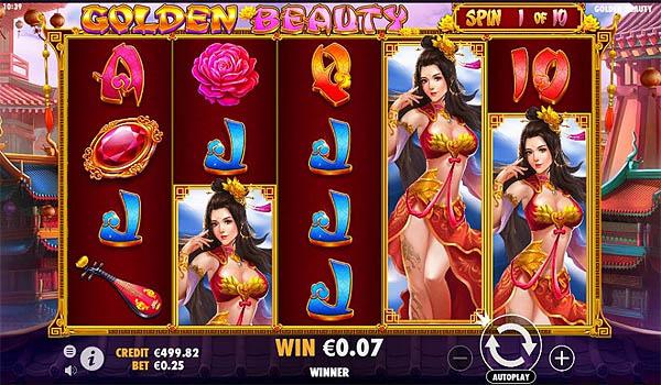 Main Gratis Slot Indonesia - Golden Beauty (Pragmatic Play)