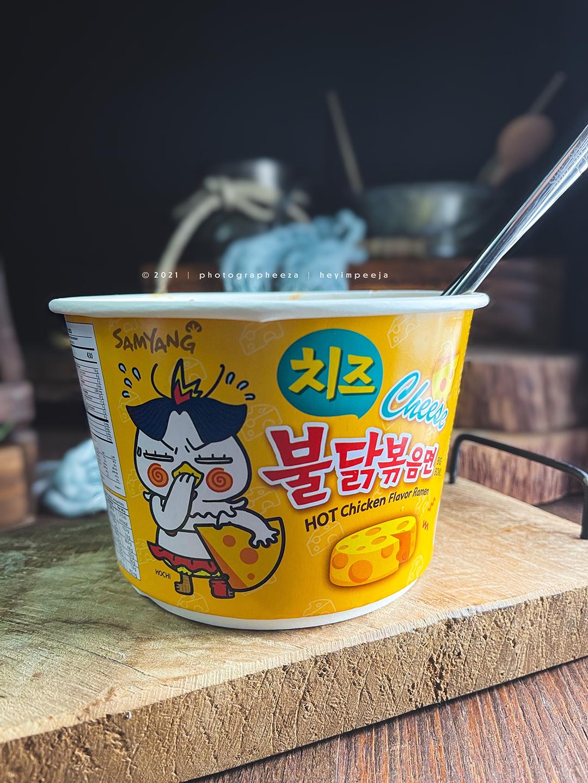 Samyang Hot Chicken Ramen Cheese Review