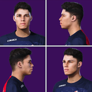 PES 2020 Faces Luiz Araújo by Volun