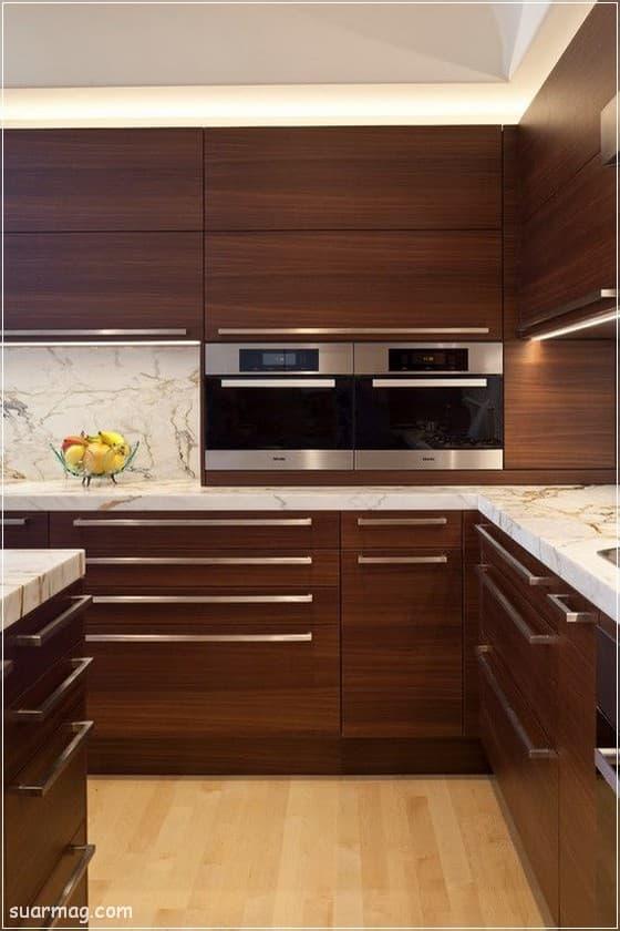 صور مطابخ - مطابخ خشب 8   Kitchen photos - Wood kitchens 8