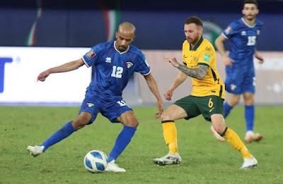 ملخص اهداف مباراة الكويت واستراليا (0-3) تصفيات كأس العالم